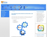 Bild Webseite TriKom Hamburg