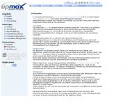 Website upmax immobilien management