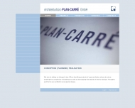 Bild Webseite Architekturbüro PLAN-CARRÉ Köln