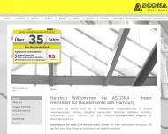 Bild ASCONA Bauelemente - Inh. ASCONA Tore Sonnenschutz Hamburg GmbH