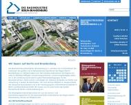Bauindustrieverband Berlin-Brandenburg e. V. ?ber uns