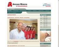 Bild Webseite Apotheke Münster Peter Treu Stuttgart