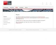 Website Buswerk Gebäudetechnik