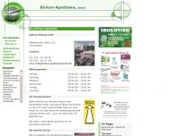 Bild Webseite Birken-Apotheke Lutz-Rainer Barthel Berlin