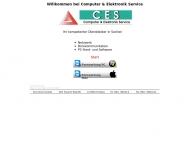 Bild Webseite CES Computer & Elektronik Service Flensburg