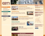 Bild Webseite Central Immobilien-Management Berlin