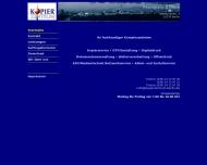 Bild Webseite Kopierzentrum am Alex Berlin