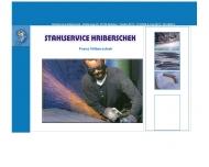 Bild Webseite Franz Hriberschek Stahlservice Hriberschek Netphen