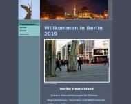 Bild Webseite OVM Dienstleistungen UG Berlin