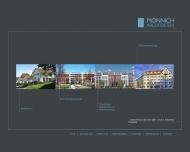 Bild Webseite Mönnich Architekten München