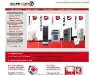 Bild Webseite Safecor Hamburg