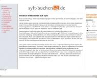 Bild Webseite Tourismus-Service Sylt Sylt-Ost