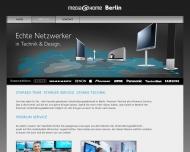 Bild Webseite Acus Unternehmensberatung Berlin