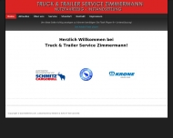 Bild Webseite TRUCK & TRAILER-SERVICE Burkhard Zimmermann Köln