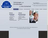Bild Webseite Wirtschaftssicherheitsdienst und Detektei Könning Kiel
