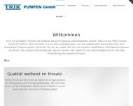 Bild Trik-Pumpen GmbH, Pumpenbau -Pumpengroßhandel