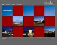 Bild Webseite Vesta Verwaltungsgesellschaft Bremen