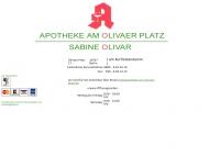 Bild Webseite Apotheke am Olivaer Platz Sabine Olivar Berlin