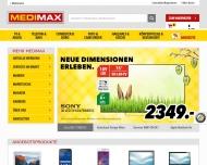 Bild Webseite MediMax Electronic Berlin-Köpenick Berlin