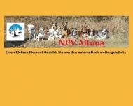 Bild Webseite Norddeutscher Polizeihundsportverein (N.P.V.-Altona) Hamburg