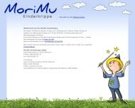 Bild Webseite MoriMu Kinderkrippe München