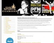 Bild Webseite Feuer Sports Hamburg