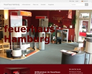 Bild Webseite Feuerhaus Hamburg Inh. Mathias Buhr Hamburg