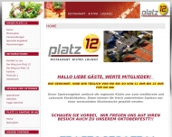 Bild Webseite Platz 12 Gastronomie UG Nürnberg