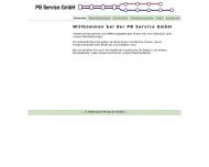Bild Webseite PB Service München