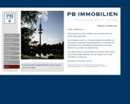 Bild Webseite PB Immobilien Hamburg