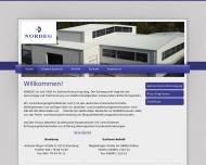 Bild Webseite NORDEG Norddeutsche Elektronikverwertungsgesellschaft Hamburg