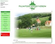 Bild Webseite Pillnitzer Hockeyverein Dresden