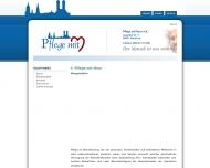 Bild Webseite Pflege mit Herz München
