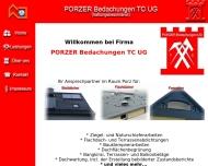 Bild Porzer Bedachungen TC UG (haftungsbeschränkt)
