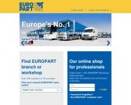 Website EUROPART Holding