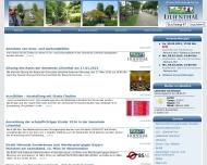 Bild Webseite  Lilienthal