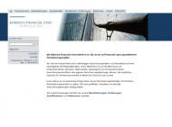 Bild Webseite Köberich Financial Lines Köln