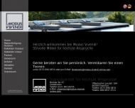 Bild Webseite MODUS VIVENDI Wohnungseinrichtung Köln