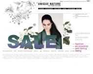 Bild Webseite UNIQUE NATURE Stuttgart