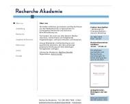 Website Recherche Akademie