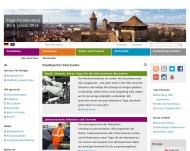 Bild Webseite Nürnberger Bündnis gegen Depression Nürnberg