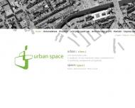 Bild Webseite URBAN SPACE Immobilien Projektentwicklung Hamburg