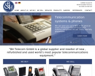Bild Webseite B & H Telecom Düsseldorf