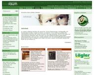 Bild Webseite Bioraum Freiburg im Breisgau