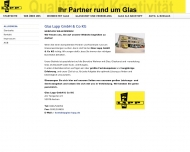 Bild Webseite Glas Lapp Aachen