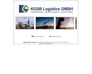 Bild Webseite KGSB Logistics Hamburg