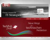 Bild Webseite KGU-Consulting Flensburg