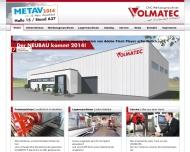 Bild Webseite Volmatec CNC-Werkzeugmaschinen Dortmund