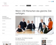 Website GRUNWALD Kommunikation und Marketingdienstleistungen