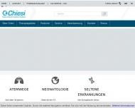 Bild Webseite Chiesi Hamburg